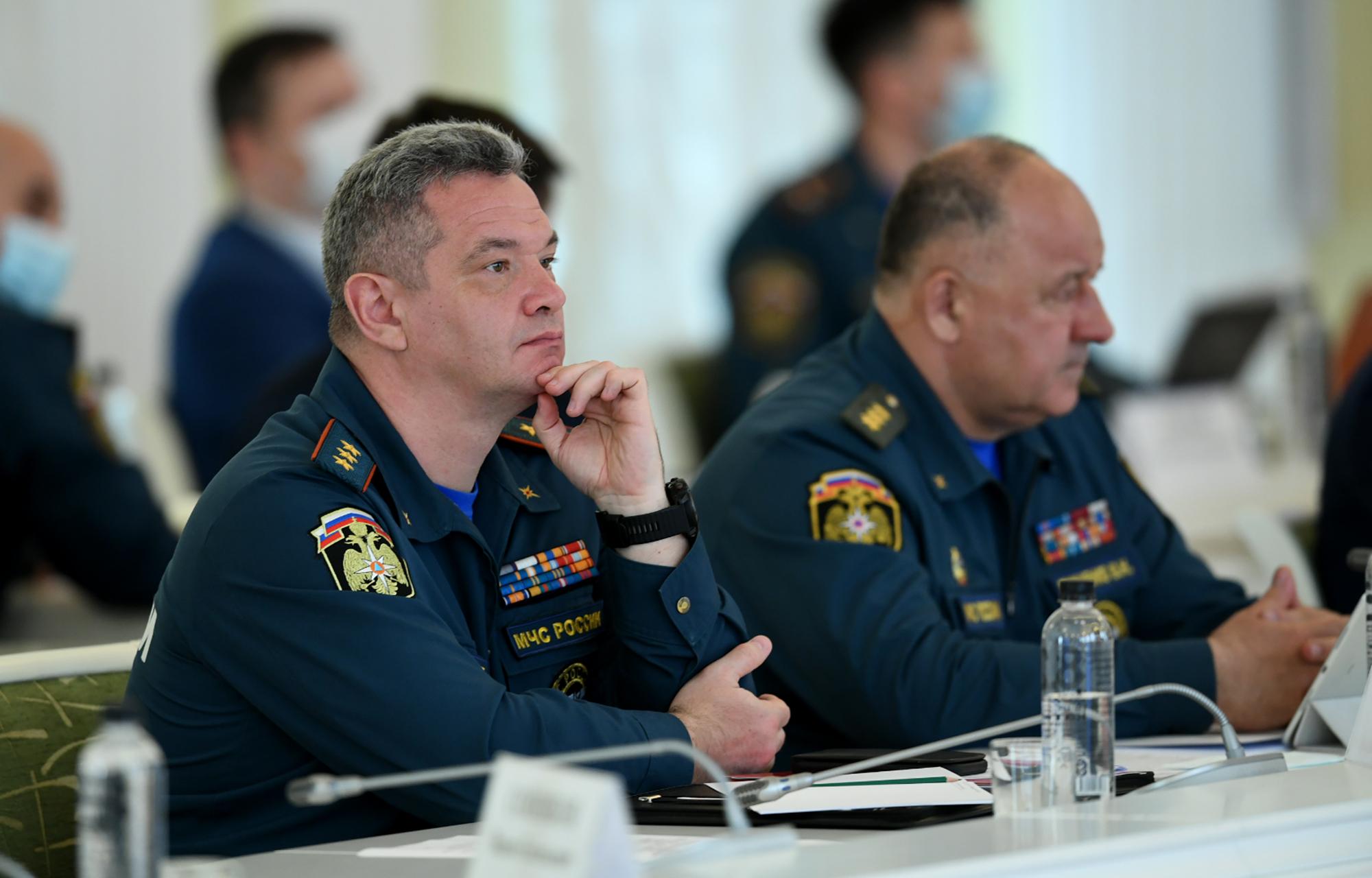 Министр МЧС России и губернатор Тверской области обсудили пожароопасный сезон 2020 года