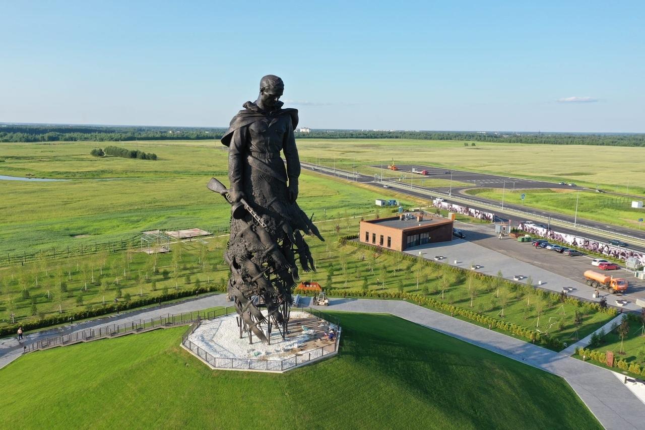 Ржевскому мемориалу Советскому солдату присвоен кадастровый номер