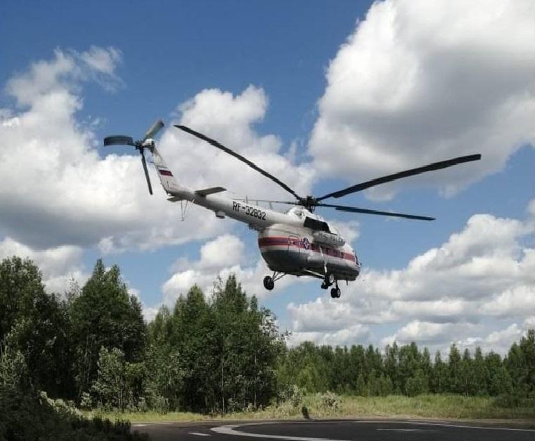 В Тверской области вертолёт санавиации вылетел в район за пациенткой