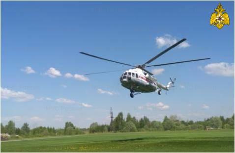 В Тверской области неотложная помощь санавиации потребовалась пациентке из Нелидово