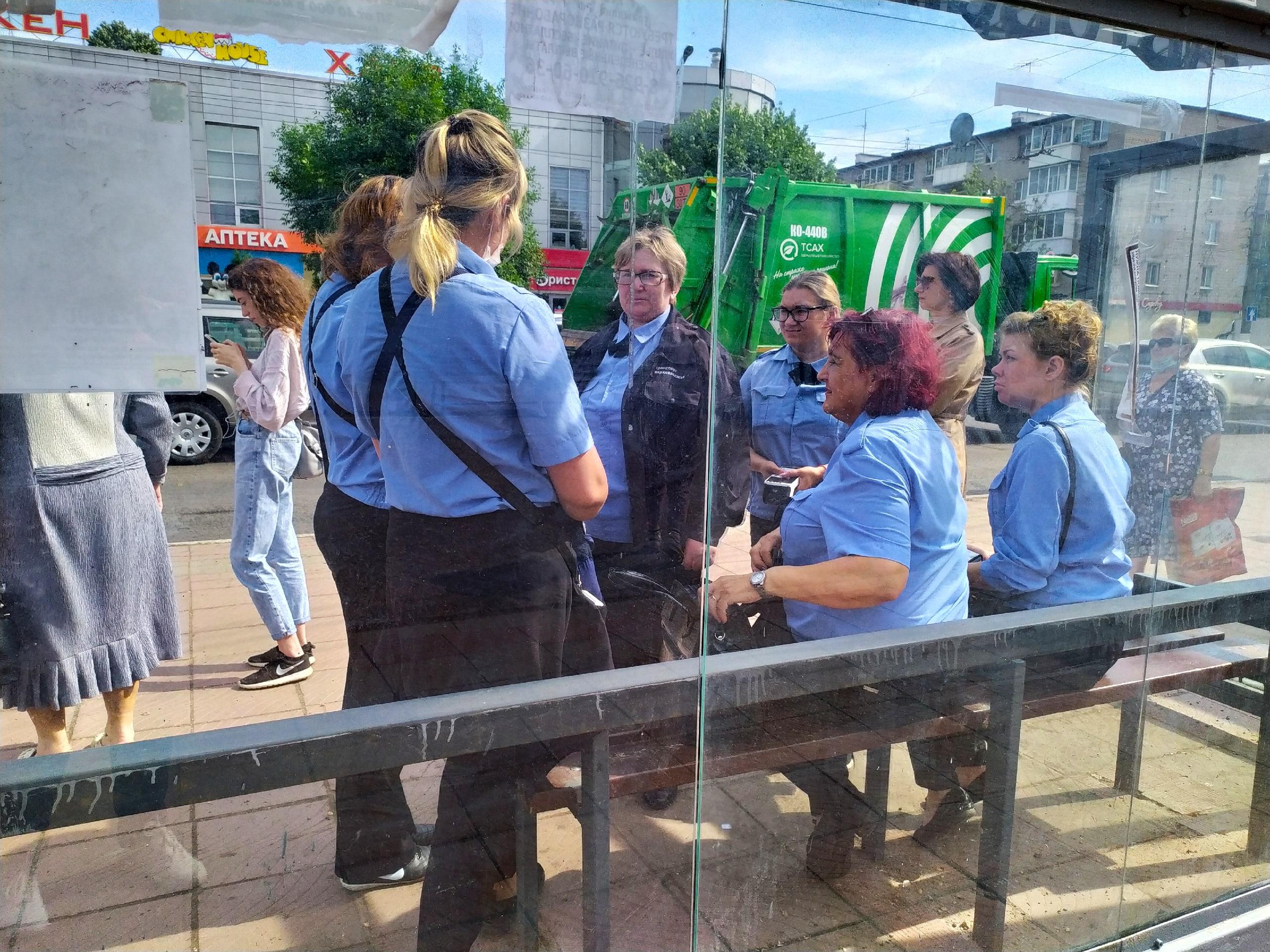В Твери идёт массовая облава на безбилетников в автобусах
