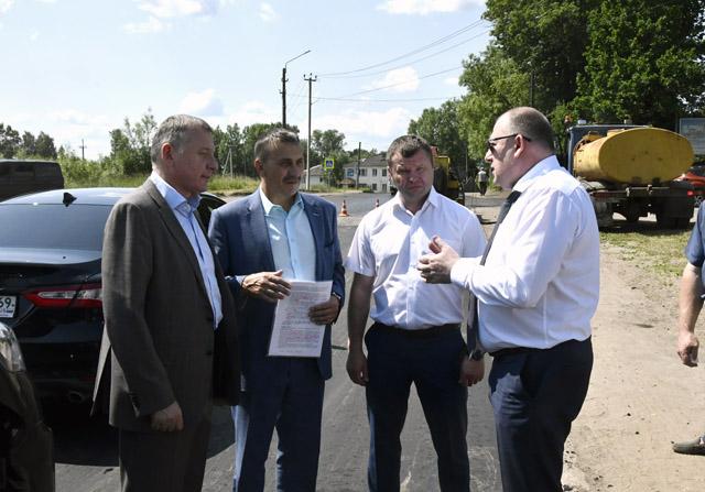 Председатель ЗС ТО с рабочей поездкой посетил район Тверской области