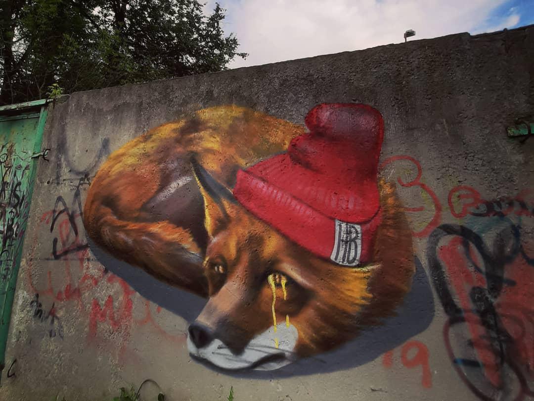 Новое красивое граффити появилось в Твери