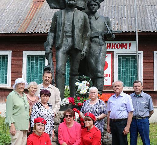 В Торопецком районе почтили память партизан, погибших в годы Великой Отечественной войны