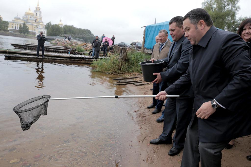 День рыбака: как в Тверской области кипит водная жизнь