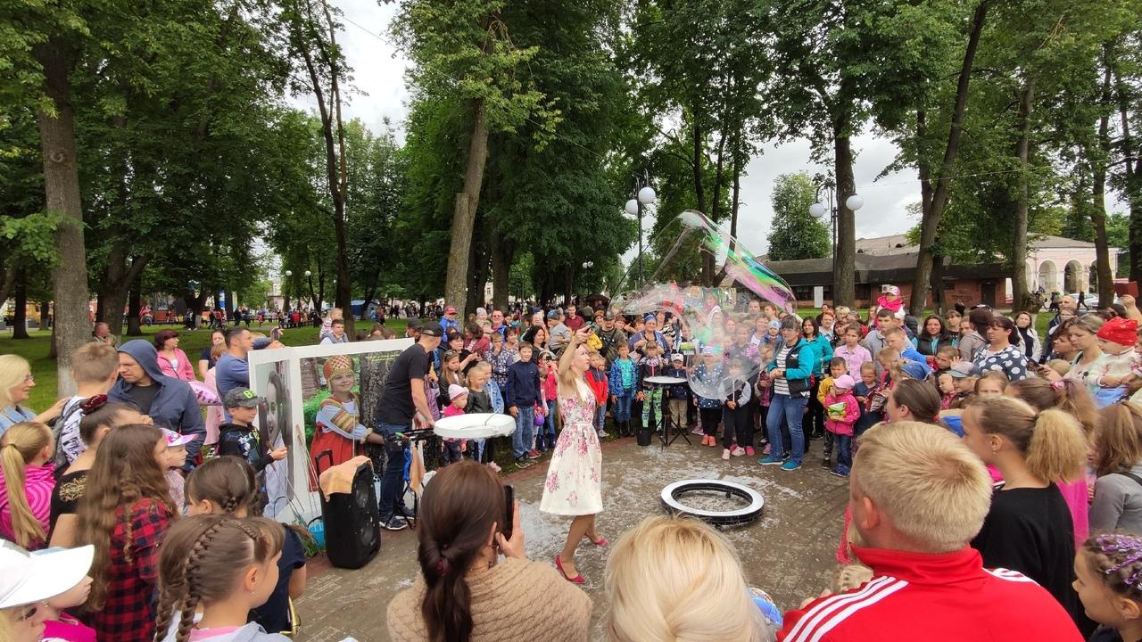 Появились фотографии с празднования Дня окурга в Тверской области