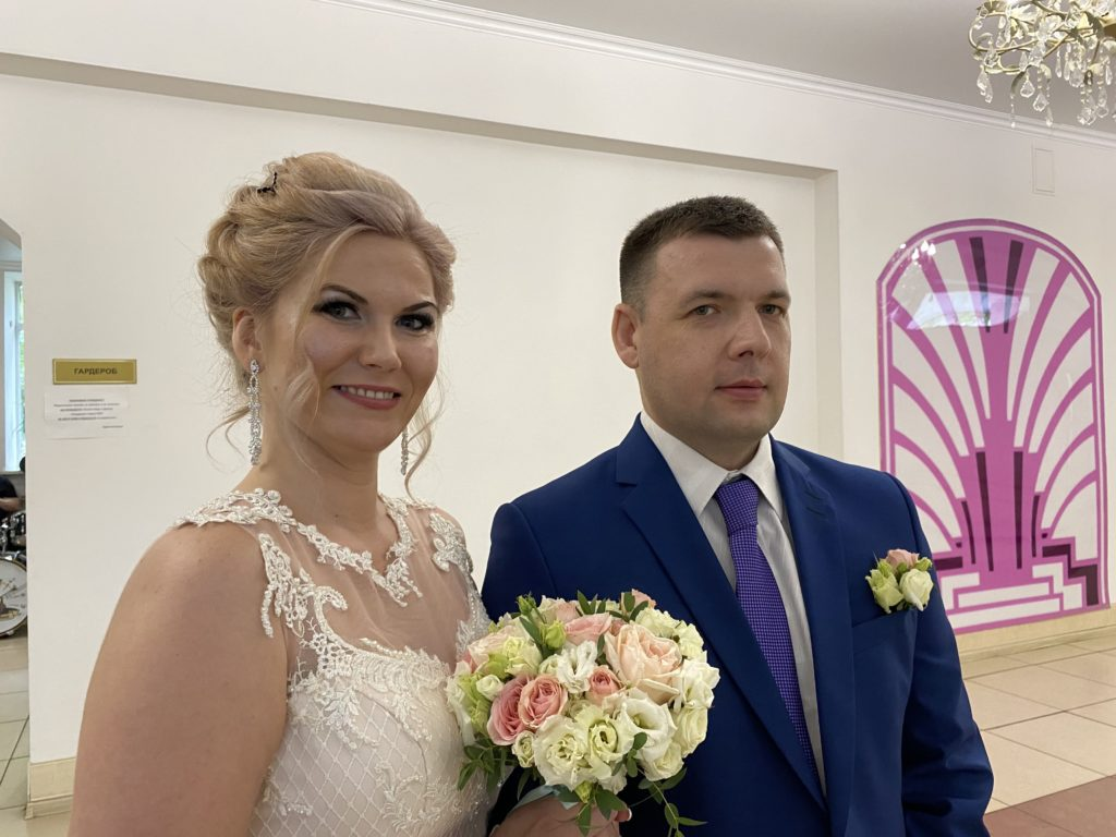 20 тверских пар связали себя узами брака в День семьи, любви и верности