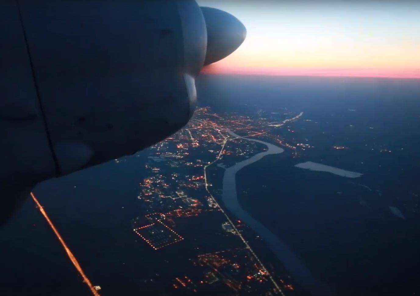 Появились видео тренировочных полетов экипажей Ан-26 в Твери