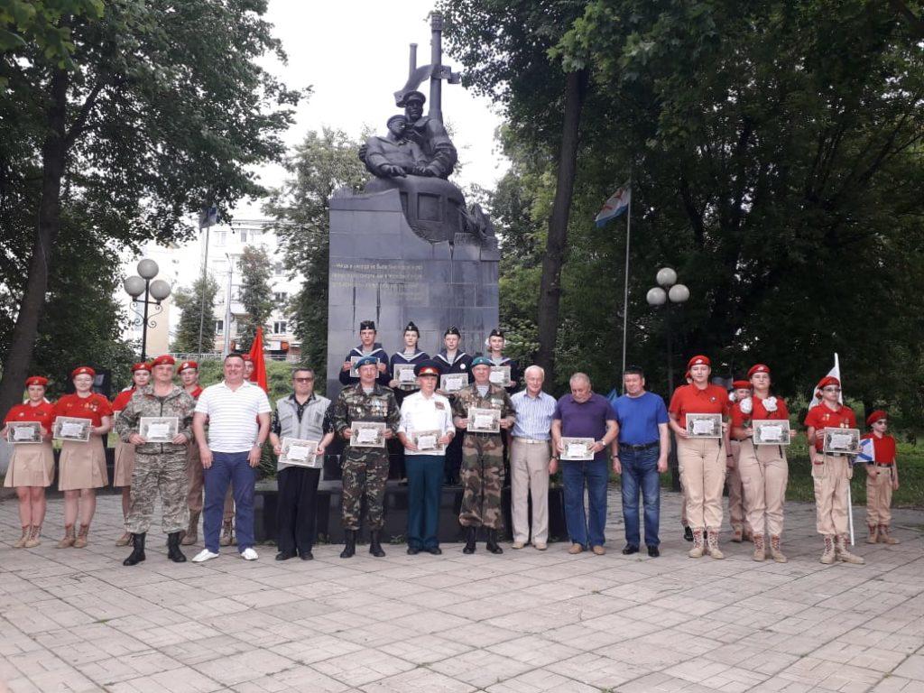 Юнармейцы и жители Тверской области получили благодарность от Заместителя Министра обороны РФ