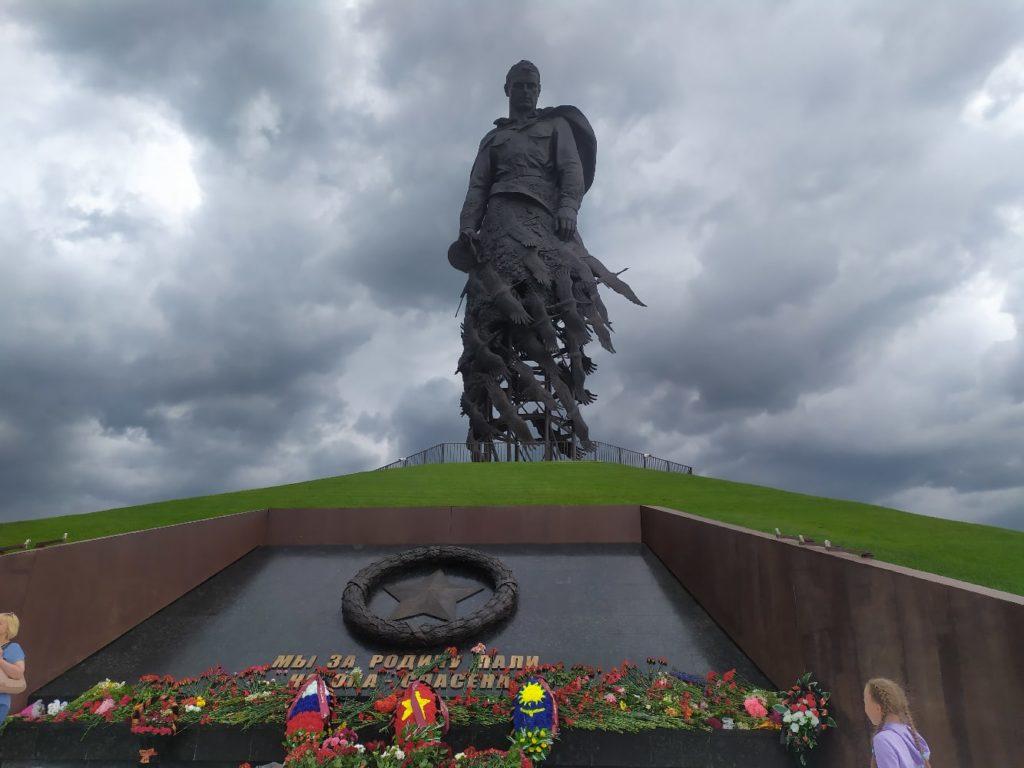Вход на территорию Ржевского мемориала открыт для туристов