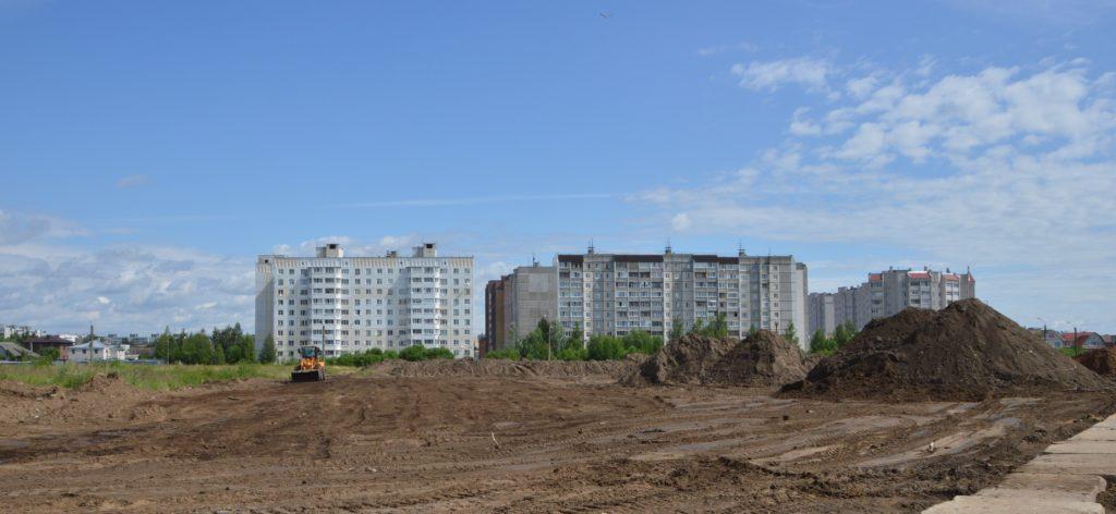 В Твери построят новый сквер с фонтаном
