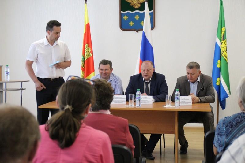 Председатель Законодательного Собрания Тверской области посетил Жарковский район