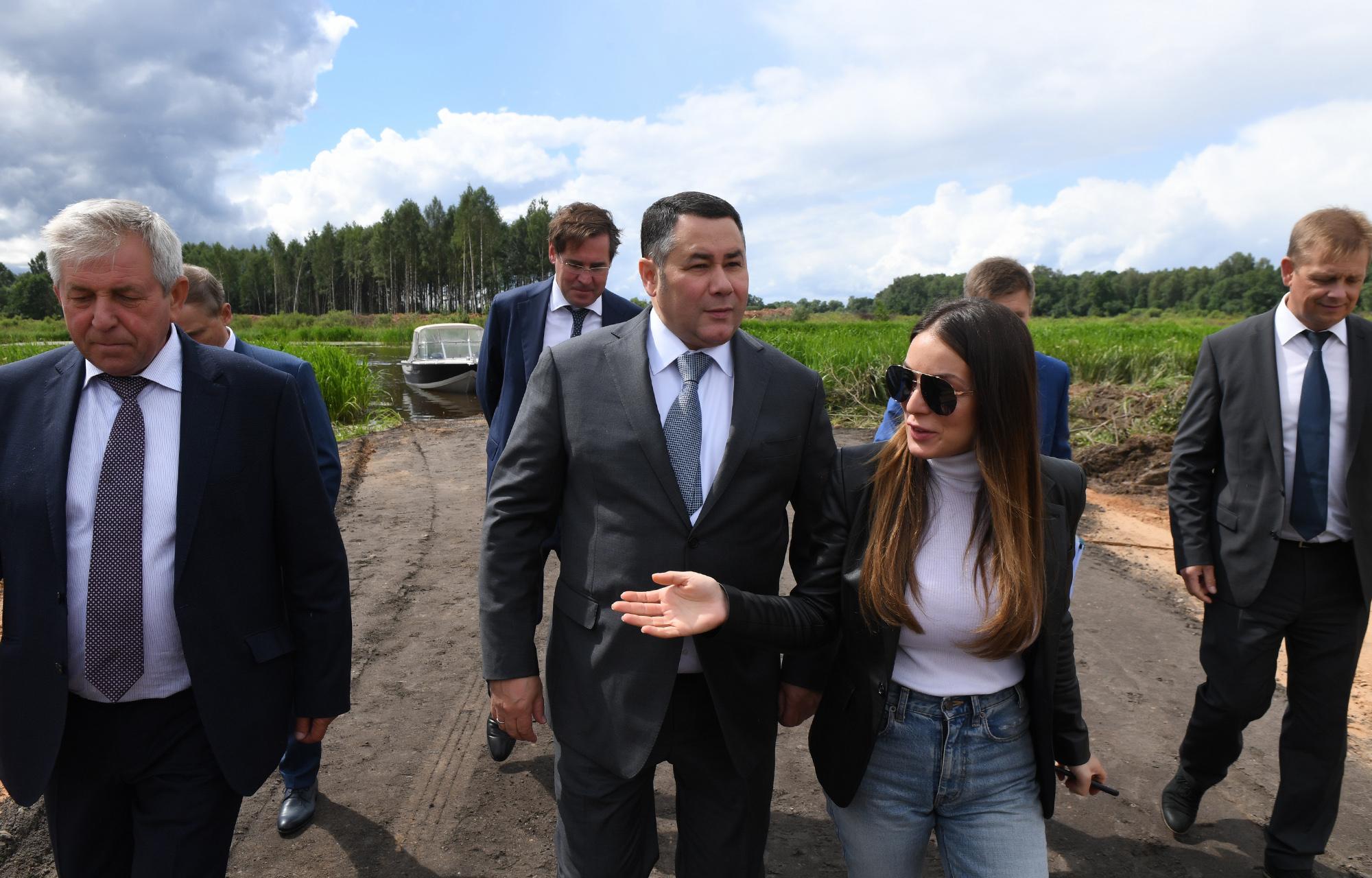 Игорь Руденя: транспортно-пересадочный узел в Завидово позволит в течение часа добираться из столицы до Московского моря