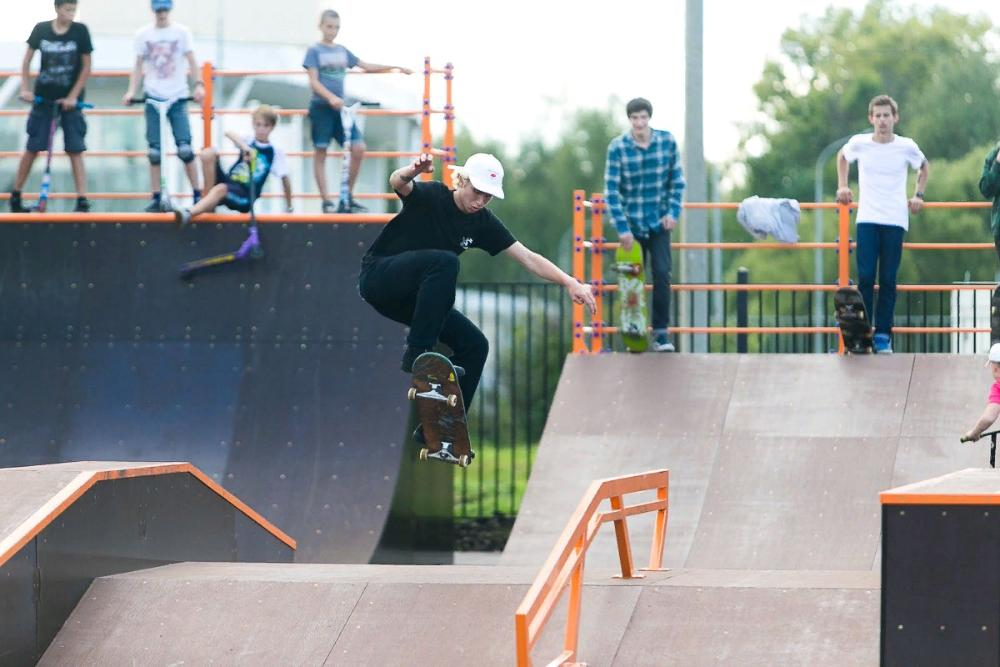 В районе Тверской области построят скейт-площадку