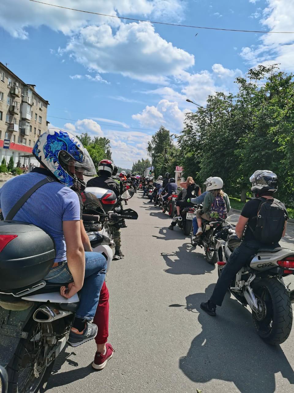 Ржевские байкеры открыли мотосезон