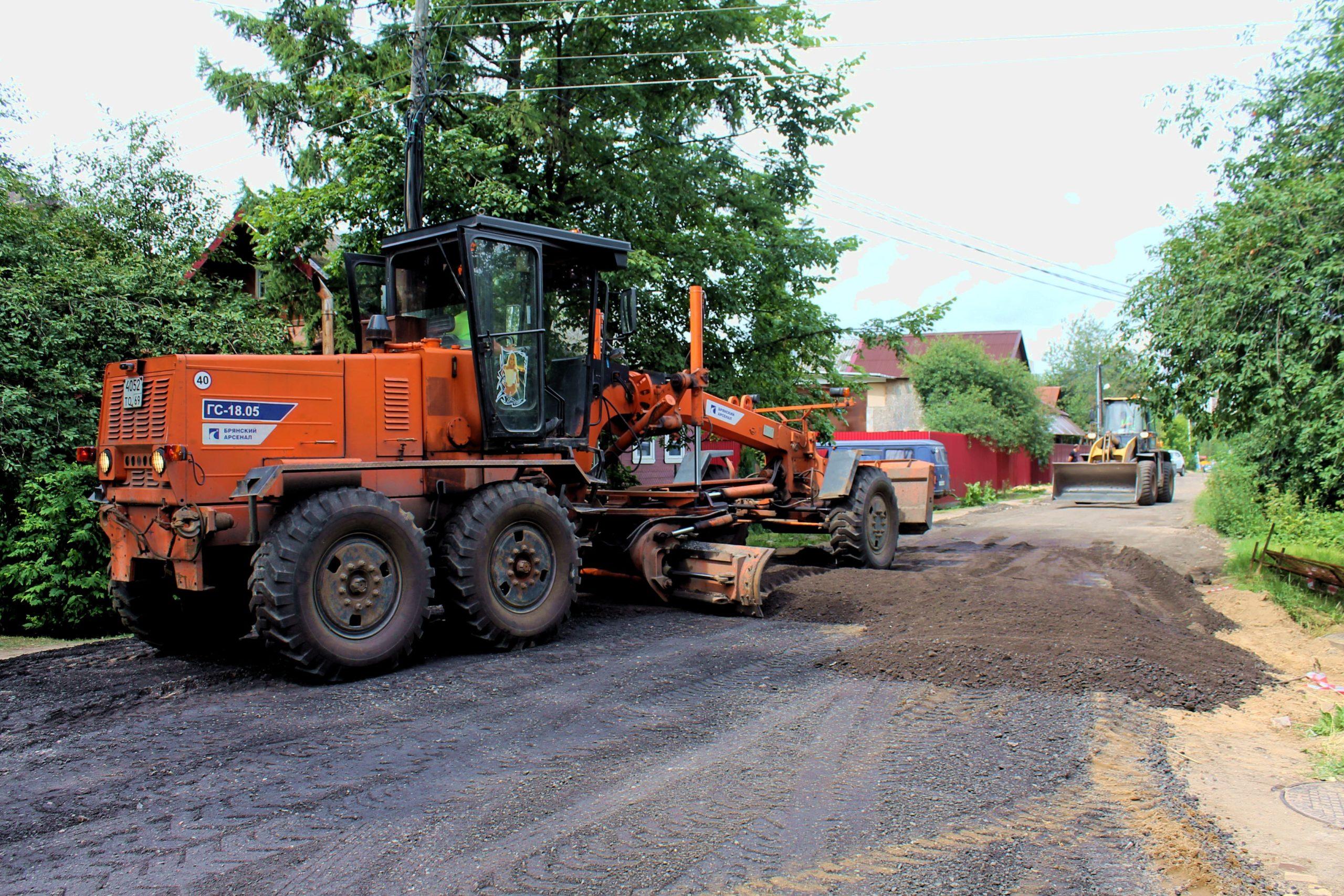 Городская администрация назвала улицы Твери, где идёт активный ремонт дорог