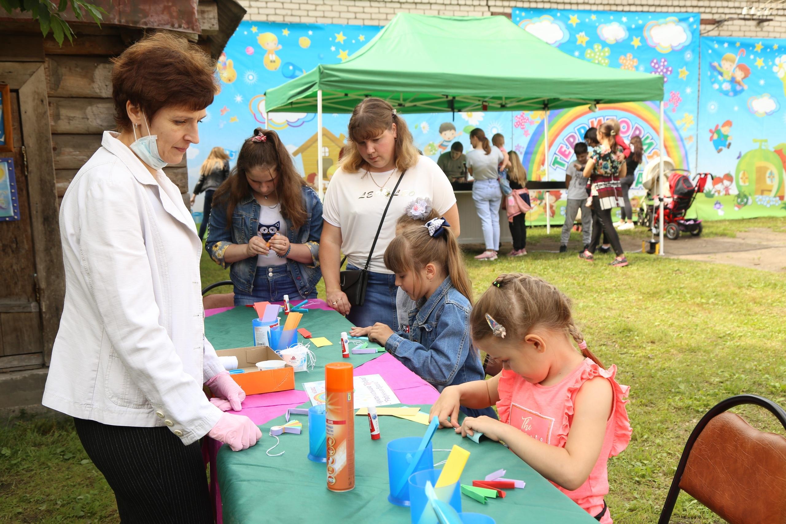 В Торопце состоялся первый летний праздник