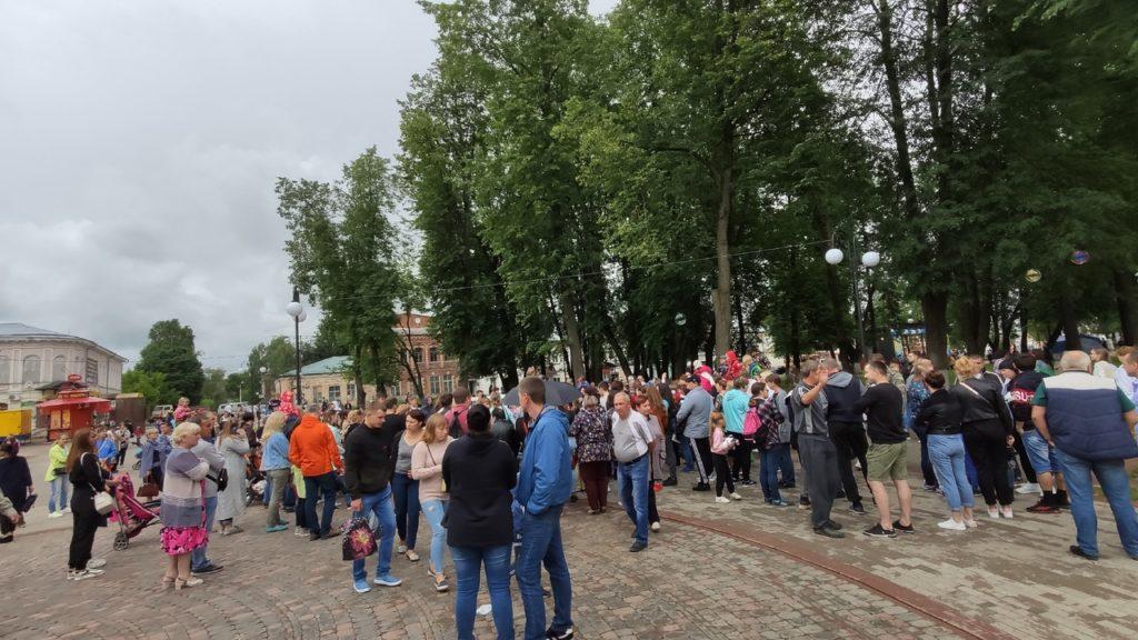 Появились фотографии с празднования Дня округа в Тверской области