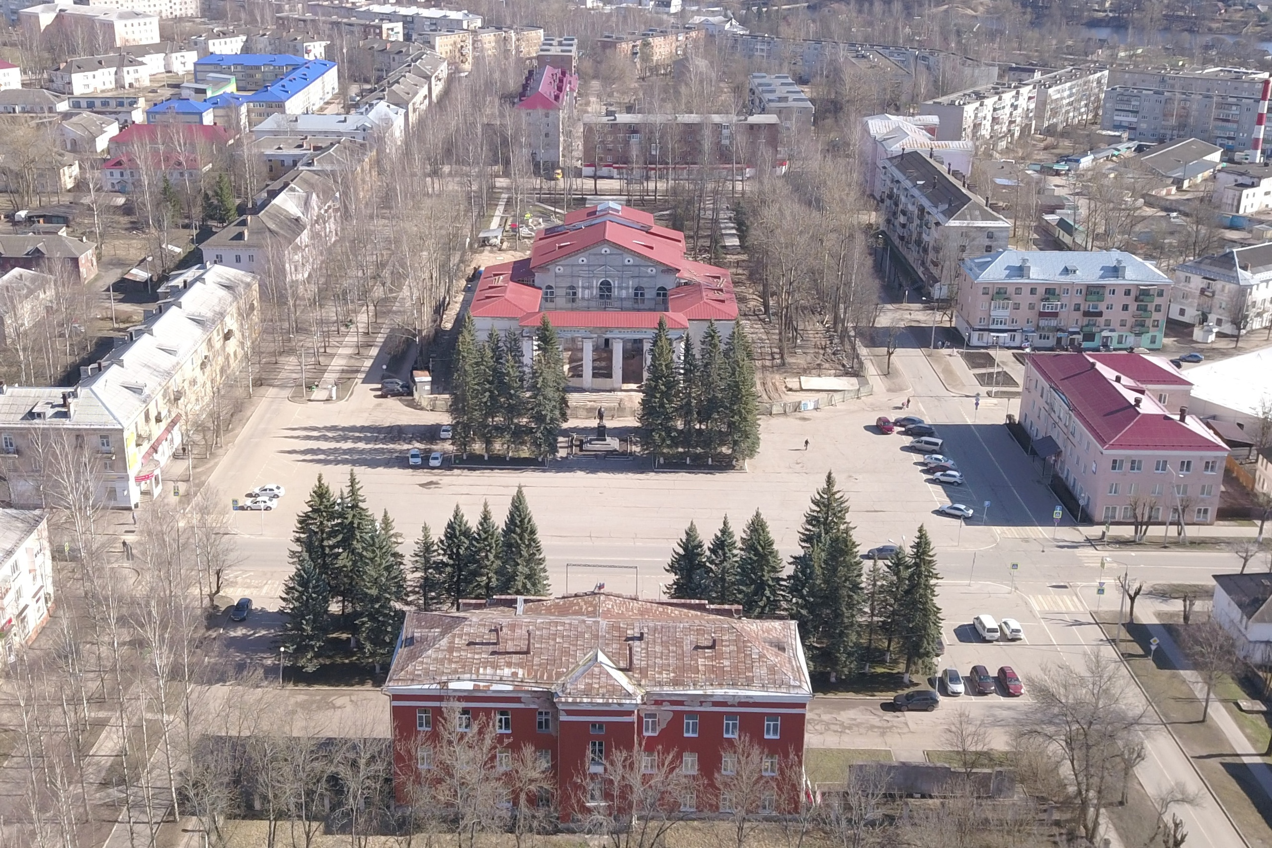 В Нелидово возобновят ремонт дворца культуры «Шахтер»