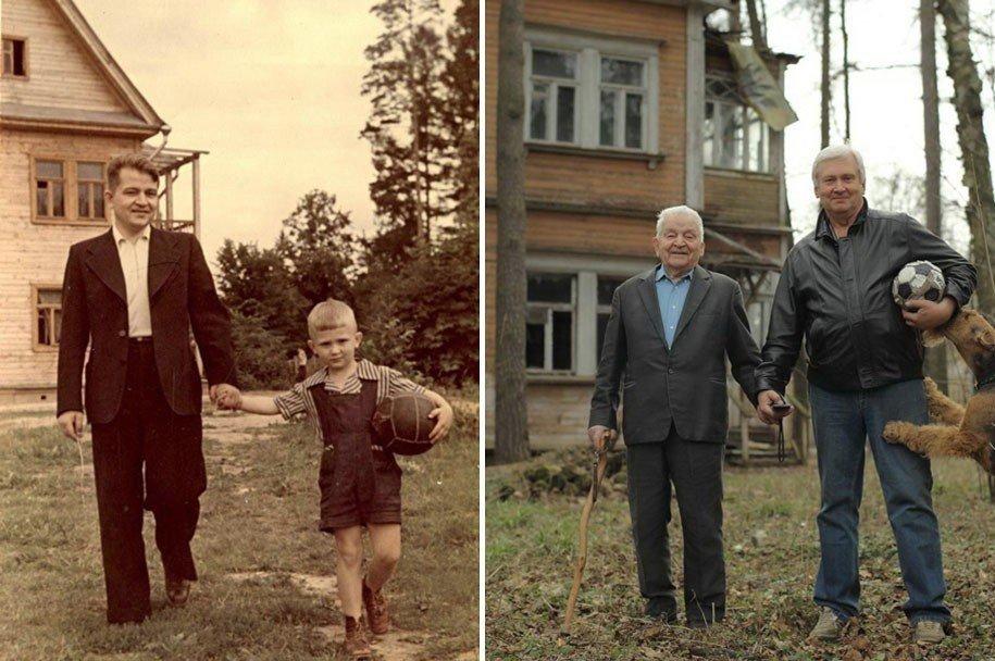 Жителей Тверской области приглашают повторить старые снимки из семейного альбома