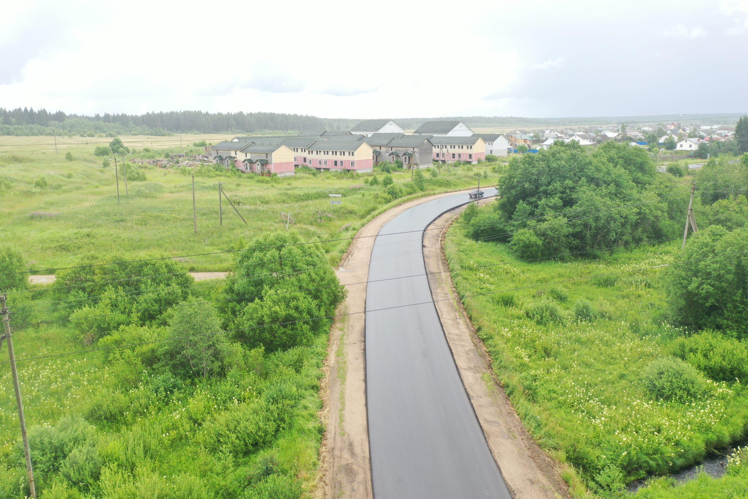 В текущем году отремонтируют 22 километра автодороги между двумя районами Тверской области