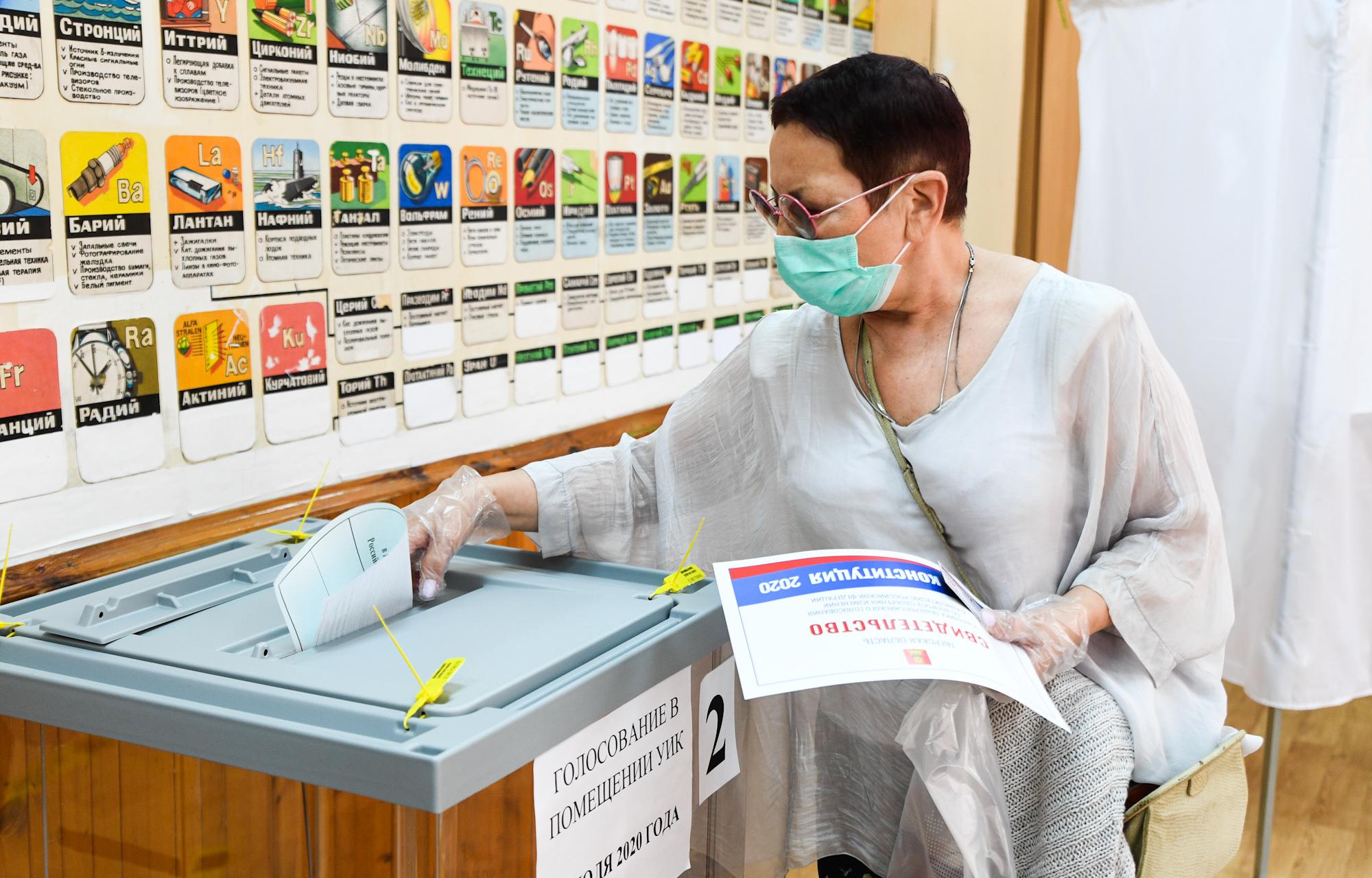 Директор Тверской картинной галереи Татьяна Куюкина приняла участие в голосовании