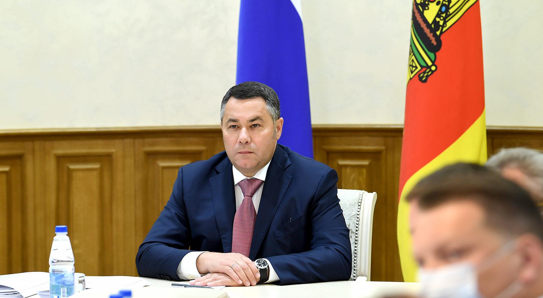 Губернатор Тверской области вновь занял 3-е место в медиарейтинге за июнь