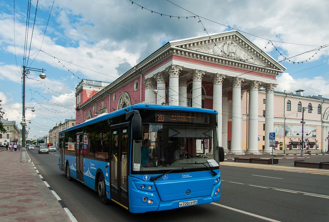 Жители Твери могут сообщить о нарушениях ПДД водителями автобусов
