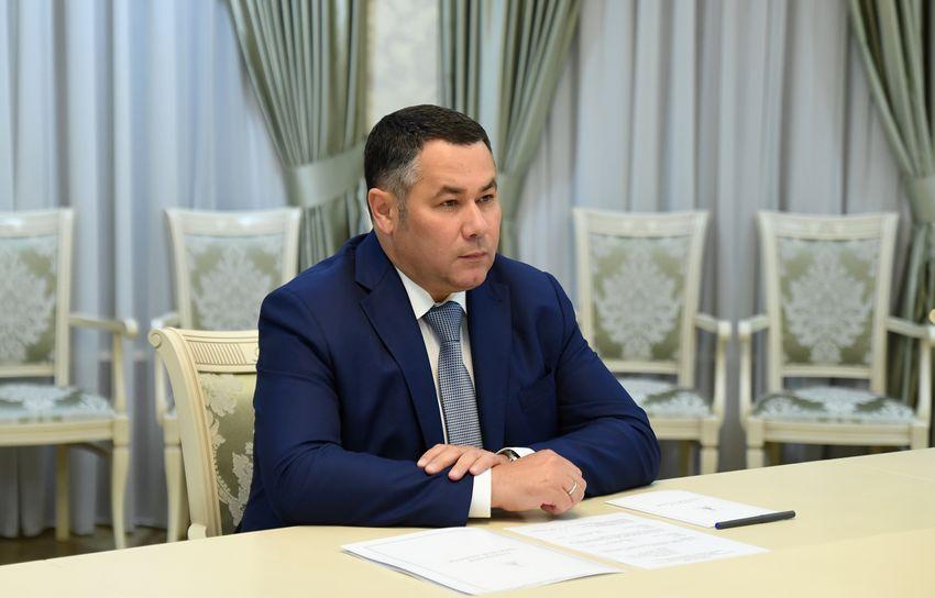Игорь Руденя обсудил с главой Молоковского района газификацию, ремонт дорог и другие вопросы