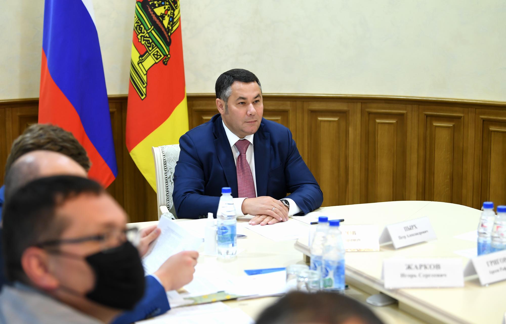 Генеральные планы пяти сельских поселений рассмотрели в правительстве Тверской области