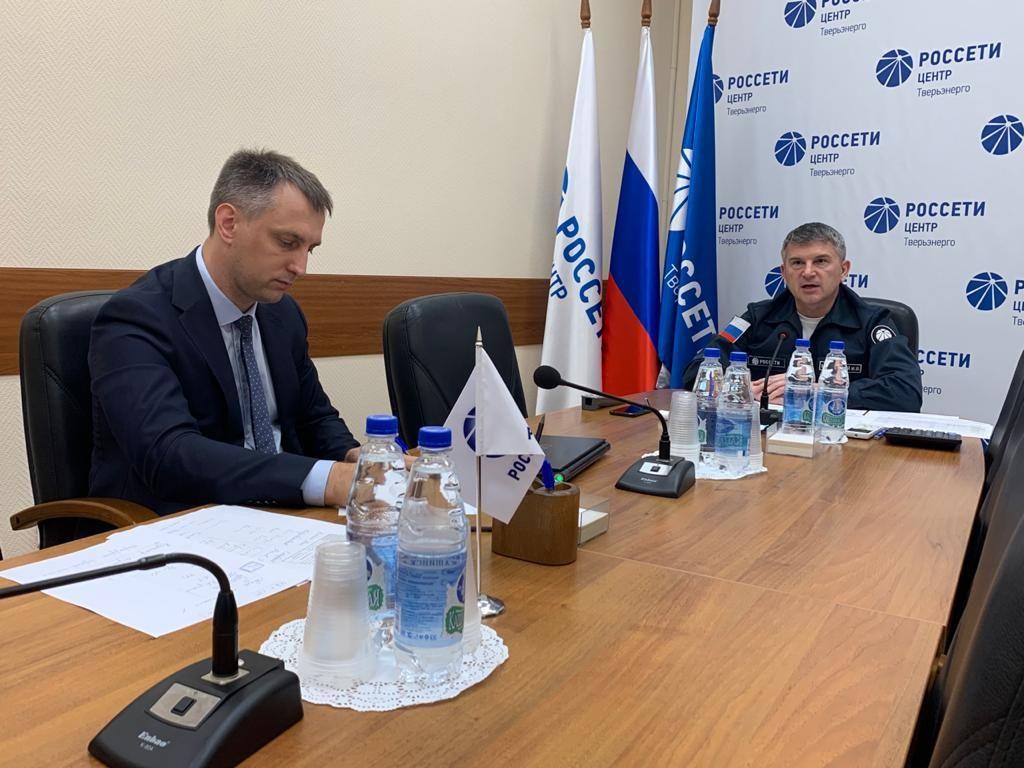 Игорь Маковский провел совещание с руководителями муниципалитетов Тверской области по ликвидации последствий урагана
