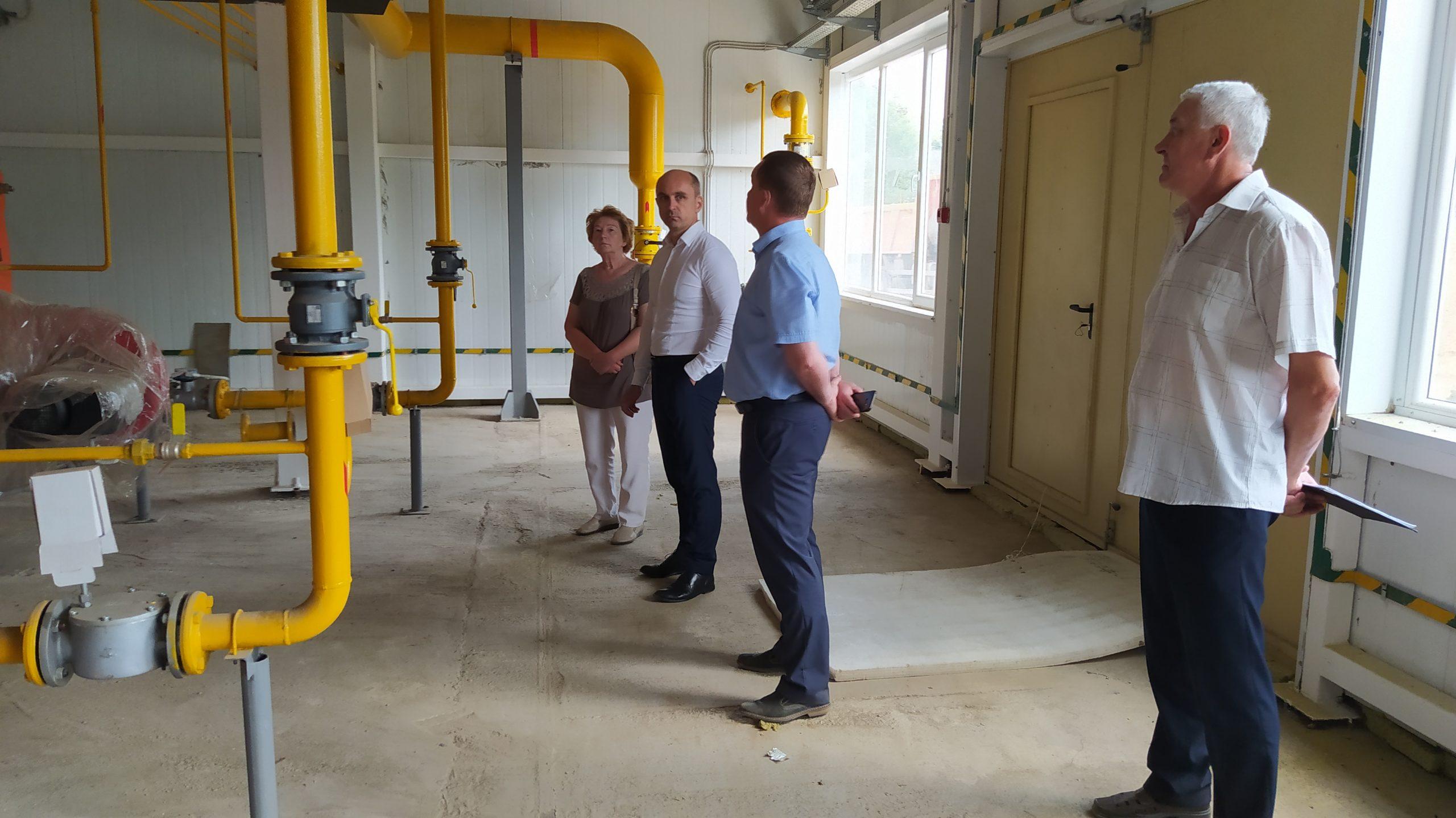 Нелидово посетил Министр энергетики и жилищно-коммунального хозяйства Тверской области