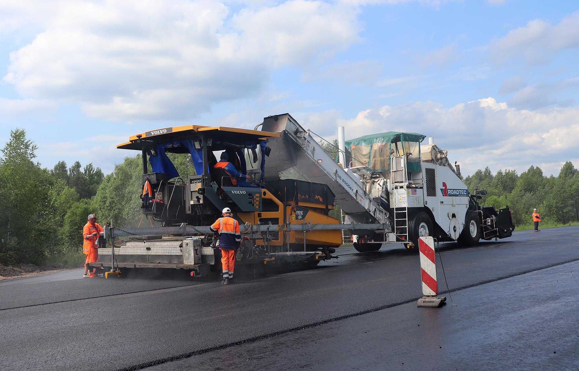 Еще больше дорог отремонтируют в Тверской области в этом году