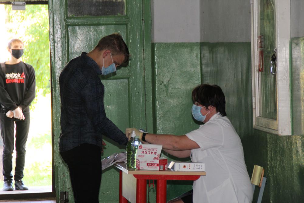 В районе Тверской области школьники сдают экзамены