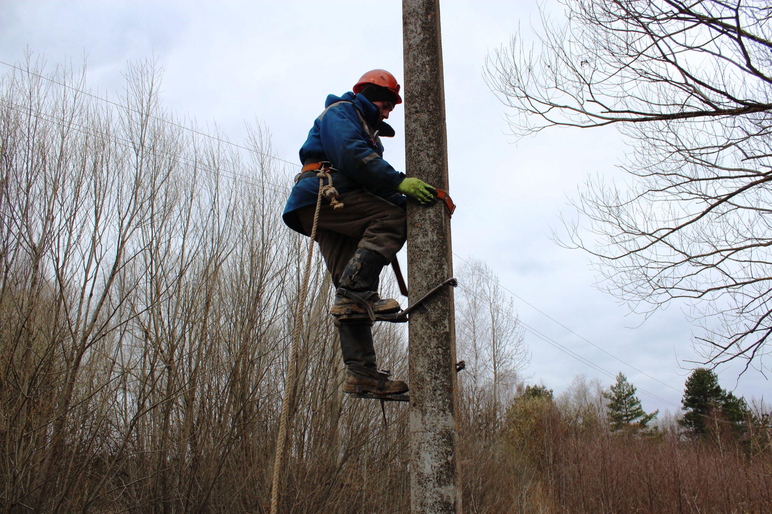 В Тверской области полностью восстановлено электроснабжение