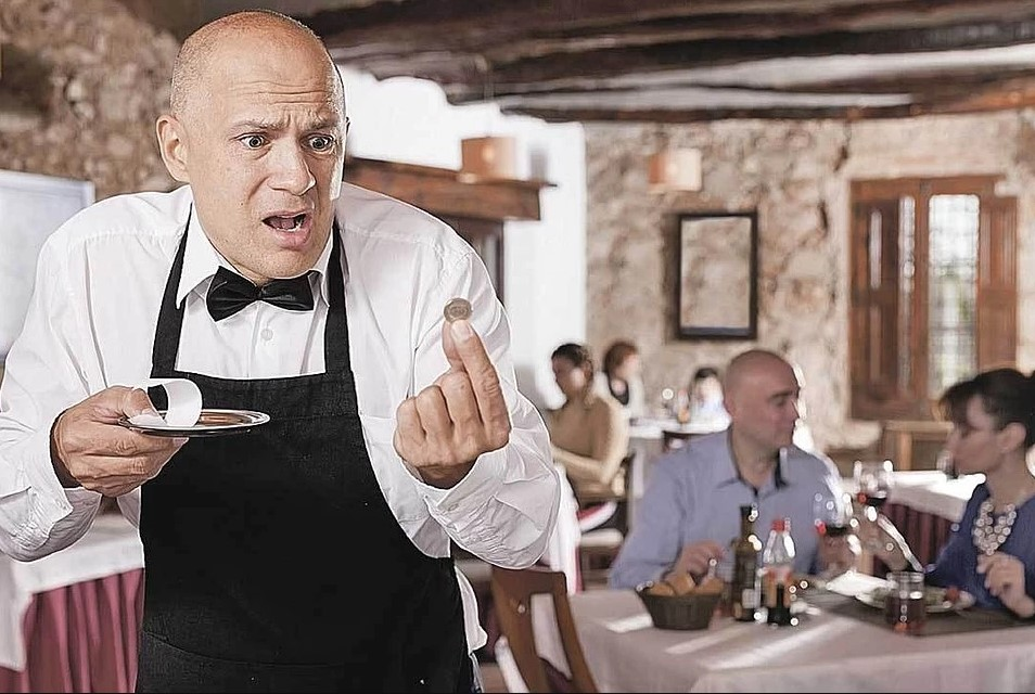 Денег нет: Тверские рестораны и кафе могут остаться без чаевых
