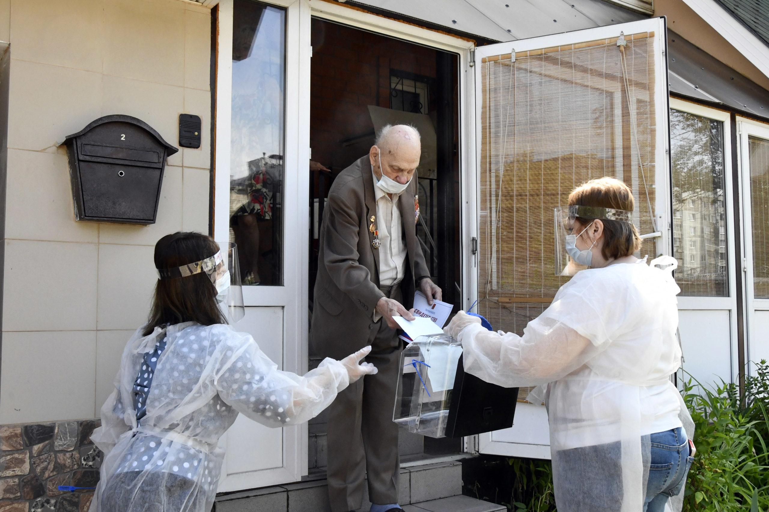 В Тверской области за поправки в Конституцию РФ проголосовали ветераны войны