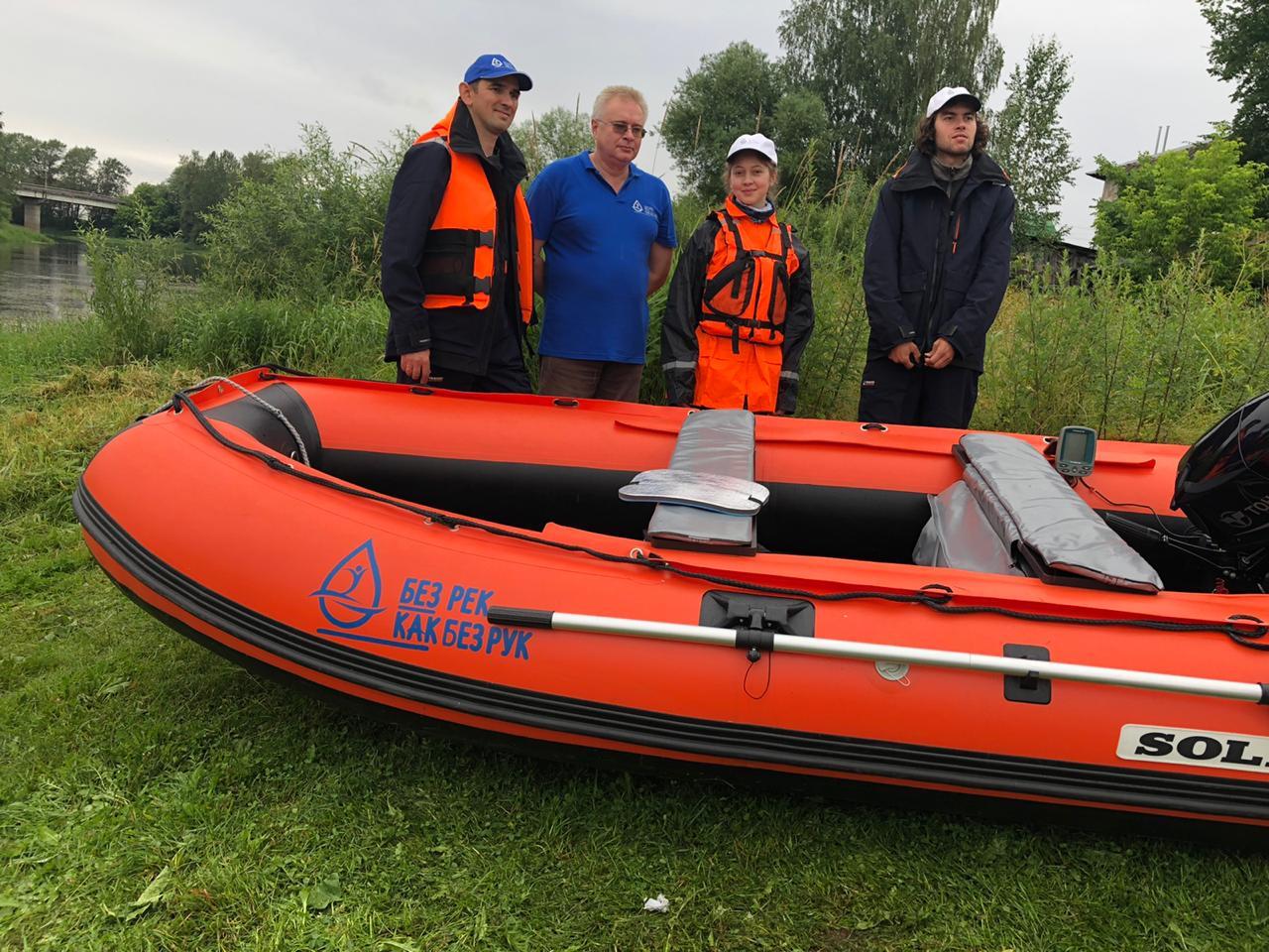 Научная экологическая экспедиция исследует Волгу в Тверской области