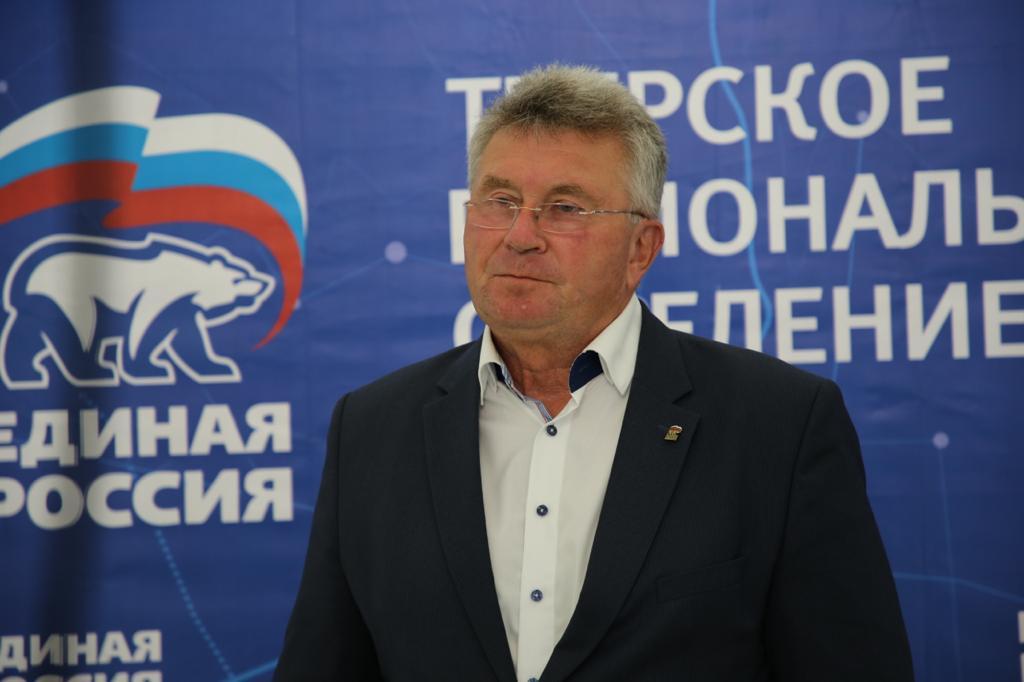 Андрей Белоцерковский будет баллотироваться в депутаты Заксобрания по Ржевскому избирательному округу