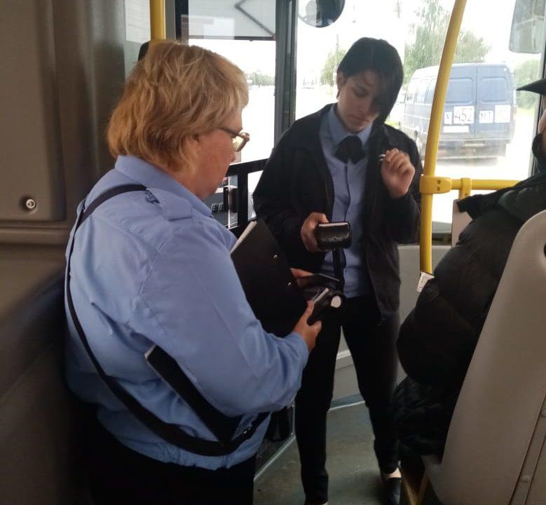 В Тверской области подвели итоги контроля безбилетного проезда в автобусах