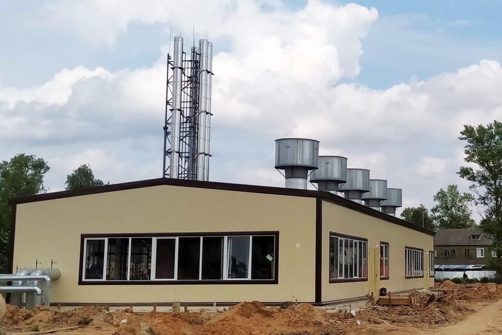 В Нелидово завершается строительство котельной