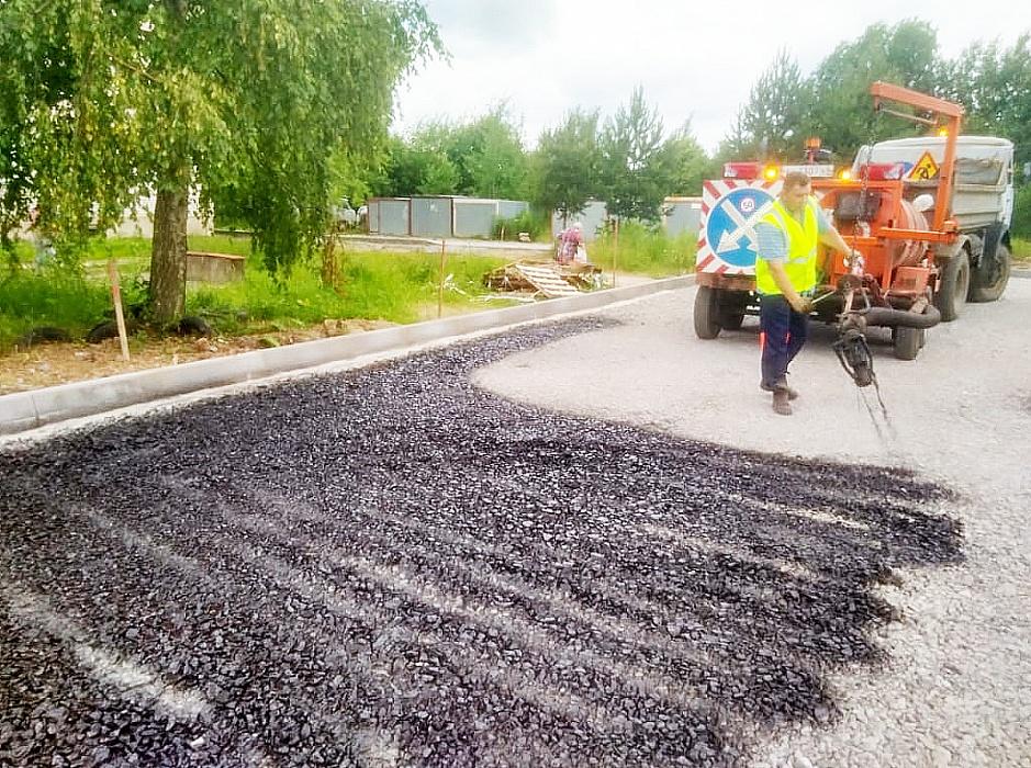 В Калязине Тверской области продолжается ремонт дорог