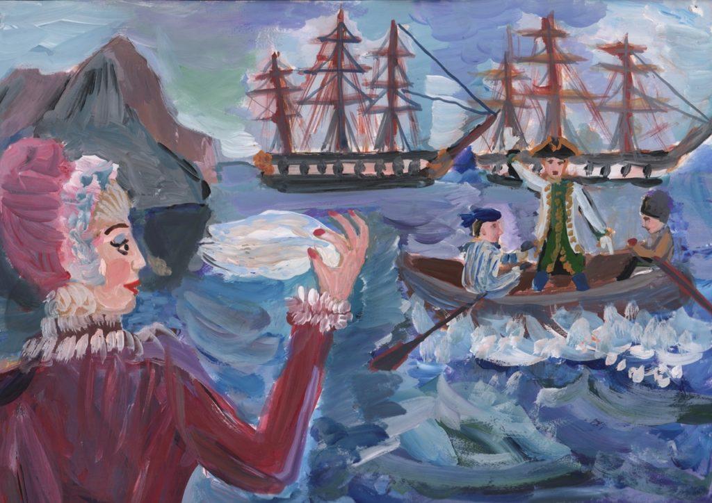 Чесменское сражение стало темой картин и образовательных фильмов в Тверской области