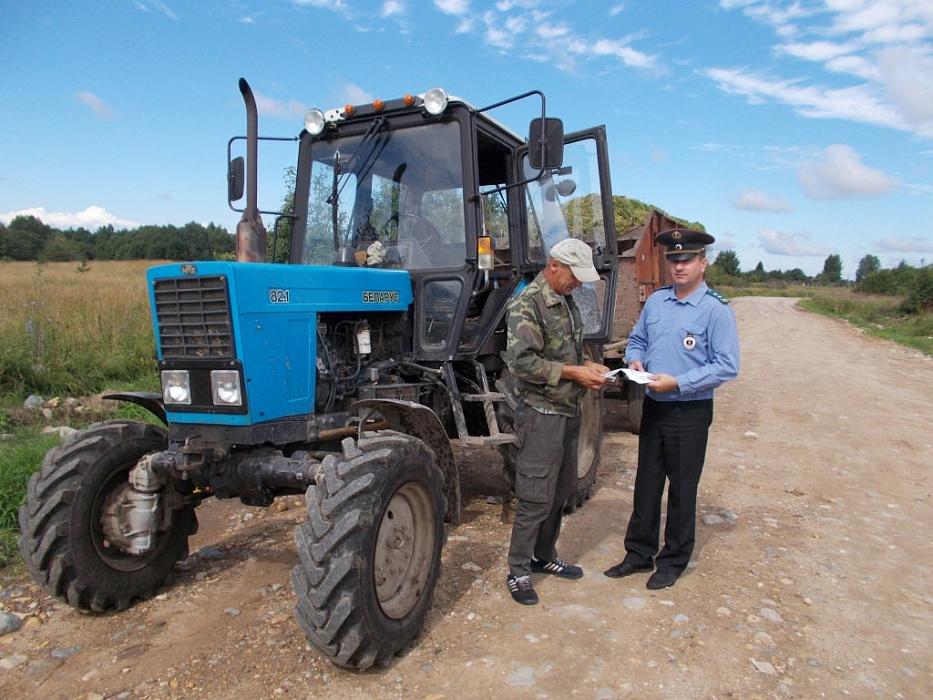 Профилактическая операция «Трактор» пройдет в Конаковском районе
