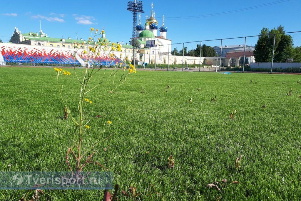 """На стадионе """"Химик"""" в Твери может появиться новое поле с подогревом"""