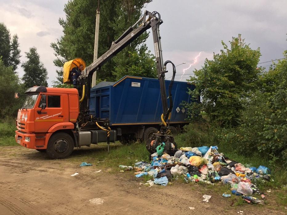 В Тверской области ликвидировали две несанкционированные свалки