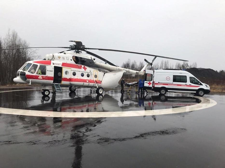 Еще в двух районах Тверской области появятся вертолётные площадки для санавиации