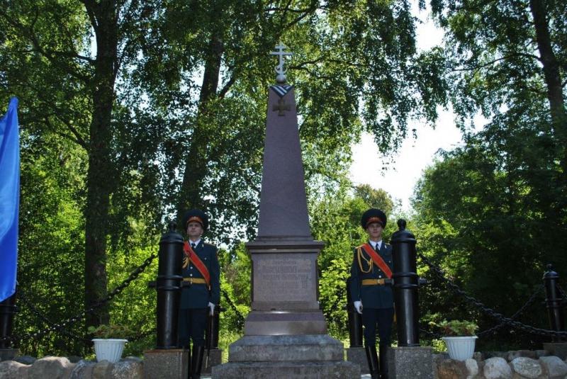 В Лесном районе Тверской области благоустроили территорию памятника Дмитрию Ильину