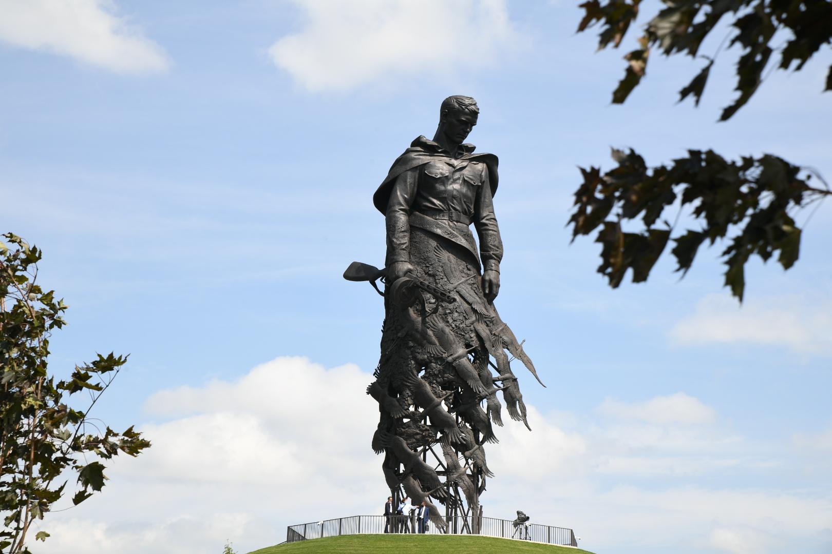Ржевский мемориал Советскому солдату в Тверской области посетили более 100 тысяч человек