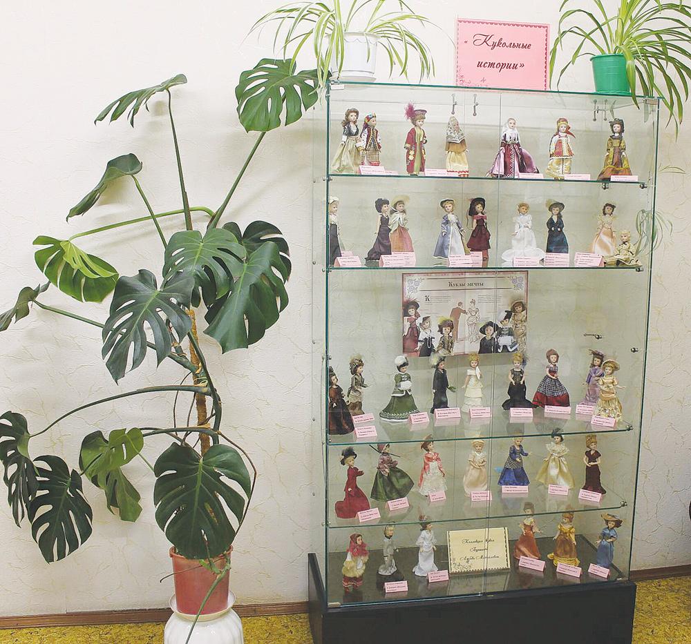 Кукольные истории рассказали в районной библиотеке Тверской области